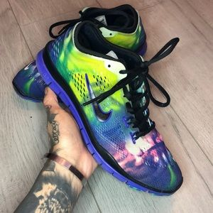 Nike Free 5.0 TR FIT Multi Color Size 5.5
